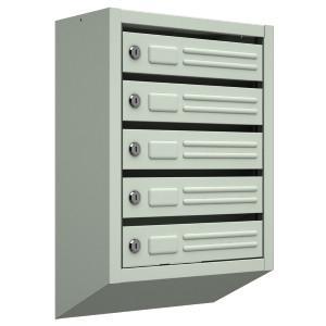 Почтовые ящики для многоквартирных домов 5 секций