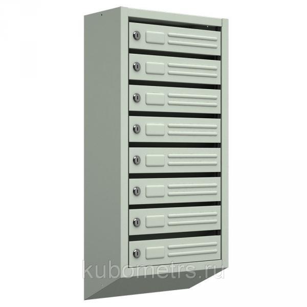 Ящики почтовые для подъездов 8-секционные с замками