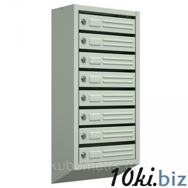 Ящики почтовые для подъездов 8-секционные с замками купить в Саранске - Почтовые ящики с ценами и фото