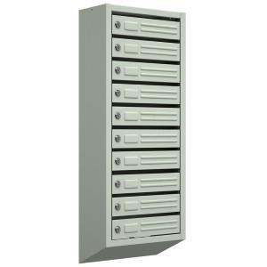 Многосекционный почтовый ящик 10-секций с замками