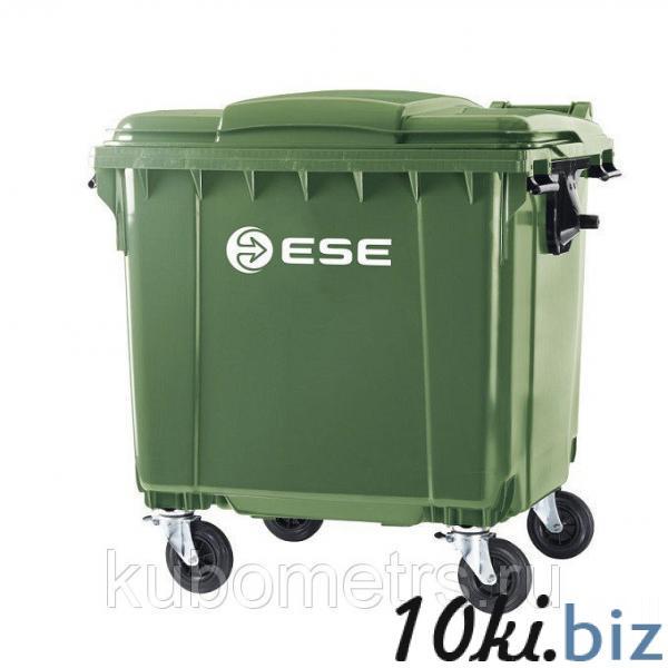 Мусорный контейнер пластиковый  770 л купить в Саранске - Мусорные контейнеры, баки с ценами и фото