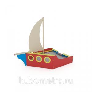 Фото  Песочница для детского сада