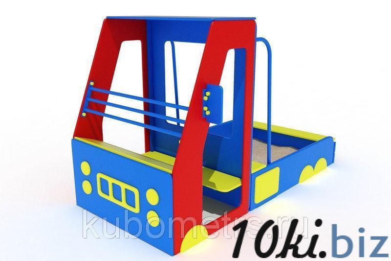 """Песочница """"Машинка"""" купить в Саранске - Игровые площадки, горки, карусели и песочницы с ценами и фото"""