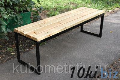 Скамейки для улицы из дерева купить в Саранске - Садовые и парковые скамейки с ценами и фото