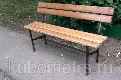 Садовые скамейки уличные 2м