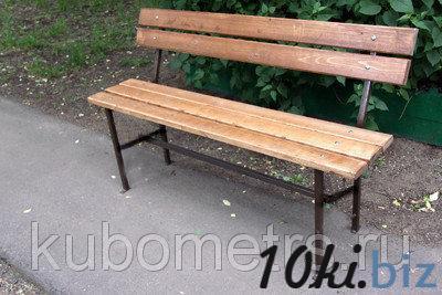 Садовые скамейки уличные 2м купить в Саранске - Садовые и парковые скамейки с ценами и фото