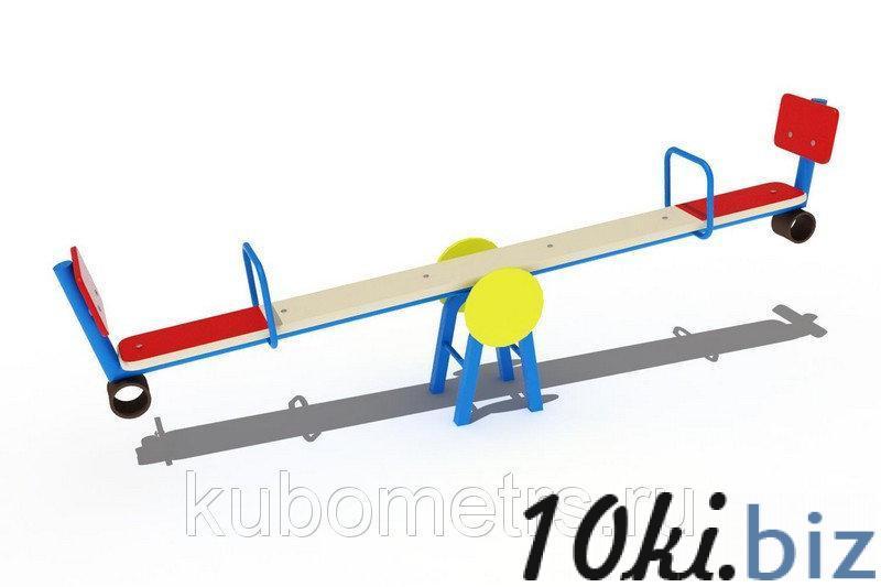 Качалка-балансир со спинкой купить в Саранске - Игровые площадки, горки, карусели и песочницы с ценами и фото