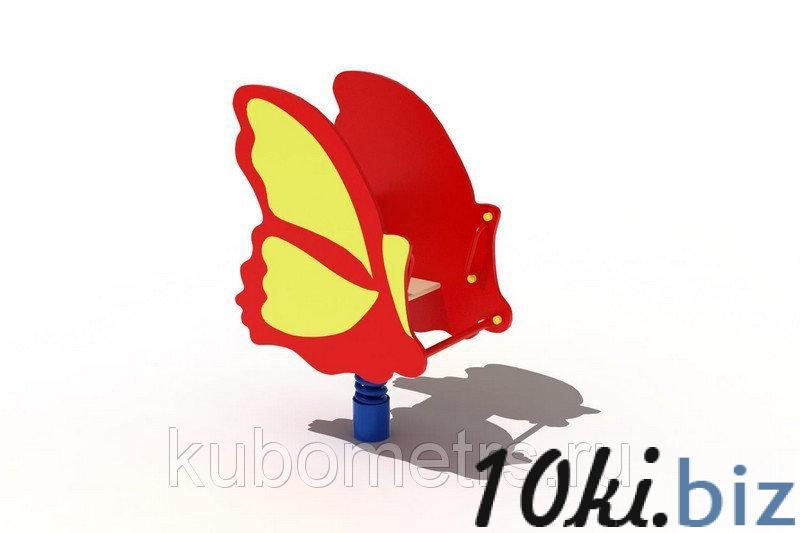 """Качалка на пружине """"Бабочка"""" купить в Саранске - Игровые площадки, горки, карусели и песочницы с ценами и фото"""