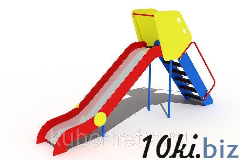 Детская горка большая Н-1500 купить в Саранске - Игровые площадки, горки, карусели и песочницы с ценами и фото