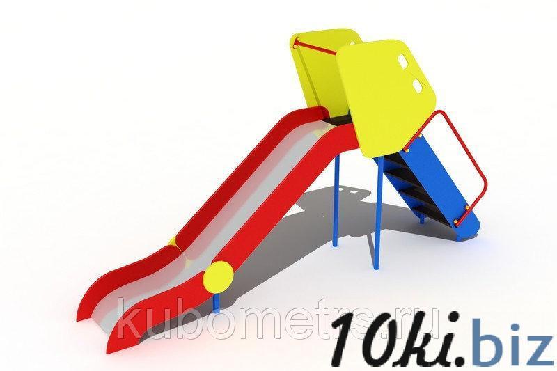 Детская горка средняя Н-1200 купить в Саранске - Игровые площадки, горки, карусели и песочницы с ценами и фото