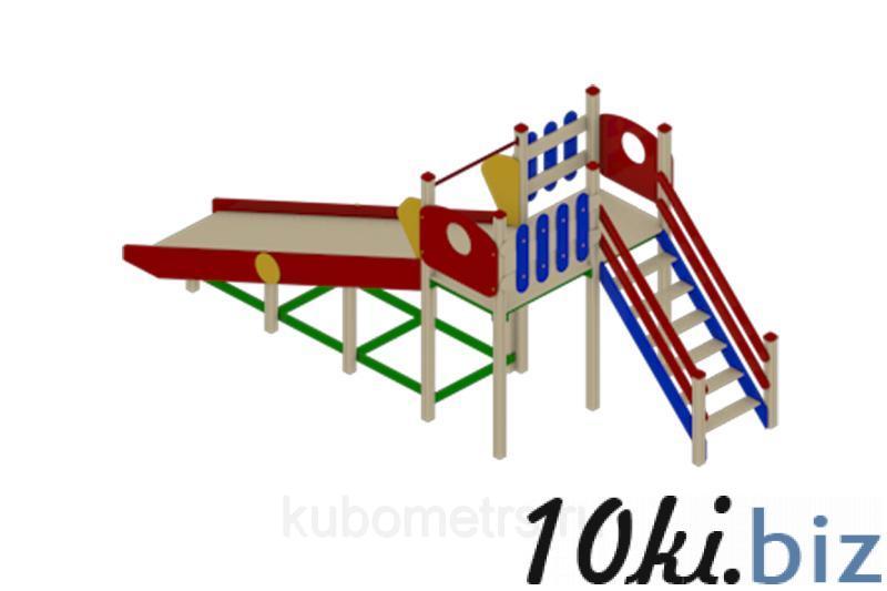 """Игровая горка """"Зима 1"""" Н-1500 купить в Саранске - Игровые площадки, горки, карусели и песочницы с ценами и фото"""
