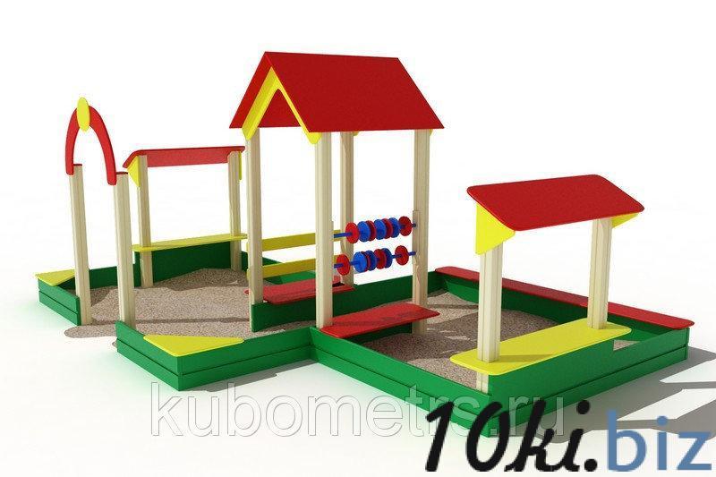 Песочный дворик большой купить в Саранске - Игровые площадки, горки, карусели и песочницы с ценами и фото