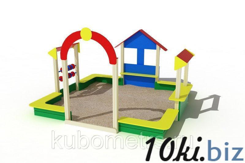 """Песочница """"Теремок"""" купить в Саранске - Игровые площадки, горки, карусели и песочницы с ценами и фото"""