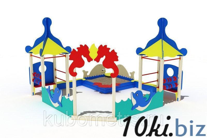 """Песочный дворик """"Морской"""" купить в Саранске - Игровые площадки, горки, карусели и песочницы с ценами и фото"""