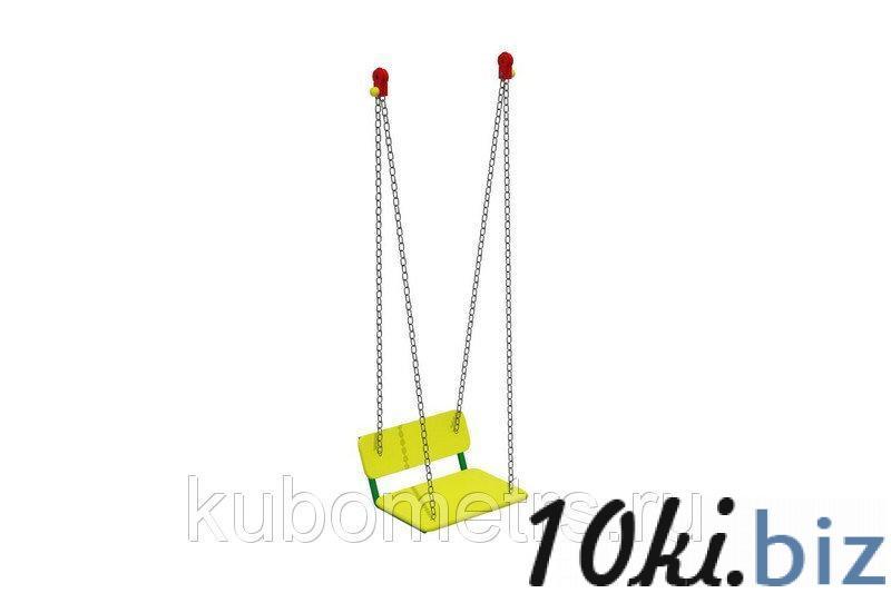 Сиденье качели со спинкой (цепь) купить в Саранске - Игровые площадки, горки, карусели и песочницы с ценами и фото