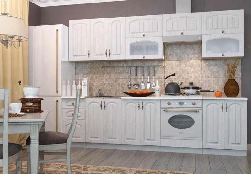 Фото Кухни модульные Кухня Монако Сандал (ДСВ)