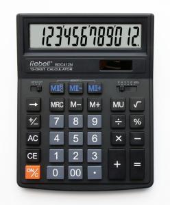 Фото Калькуляторы, носители информации (ЦЕНЫ БЕЗ НДС) Калькулятор настольный 12р.-16р. серии 412+/554+/664+ Rebell, Германия (ЦЕНЫ см. подробнее)