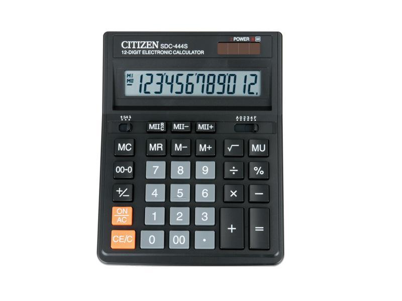 Калькулятор настольный 12р. SDC 444S Citizen original