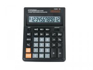 Фото Калькуляторы, носители информации (ЦЕНЫ БЕЗ НДС) Калькулятор настольный 12р. SDC 444S Citizen original