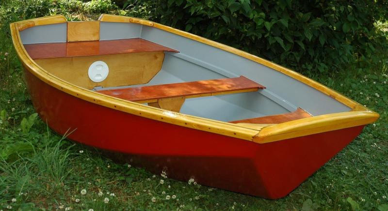 Лодка гребная ЛЛ-235м (с воздушными ящиками)