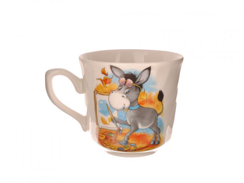 Фото Чашки, кружки, Чашки, кружки керамические и фарфоровые Чашка керамическая 220 мл Забава