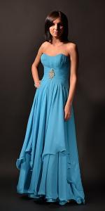 Фото Длинные вечерние платья Длинное платье на корсете