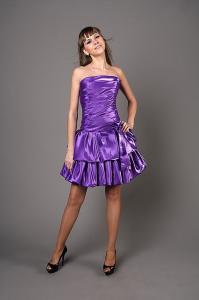 Фото Платья на корсете Короткое платье с заниженной талией на корсете