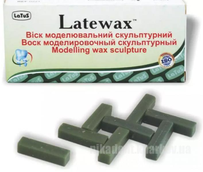 Фото Для зуботехнических лабораторий, МАТЕРИАЛЫ, Воска Latewax воск моделировочный скульптурный (55г)