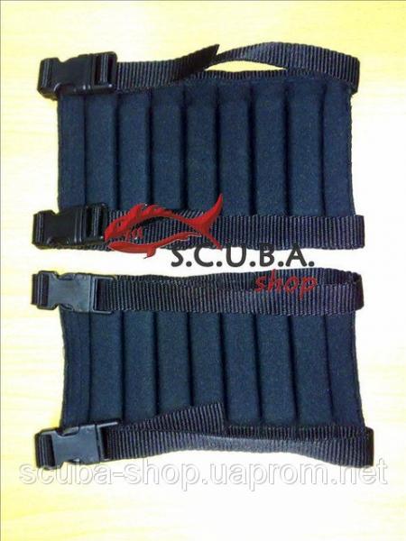 Ножные грузы для подводной охоты регирулируемые (груза на ноги)