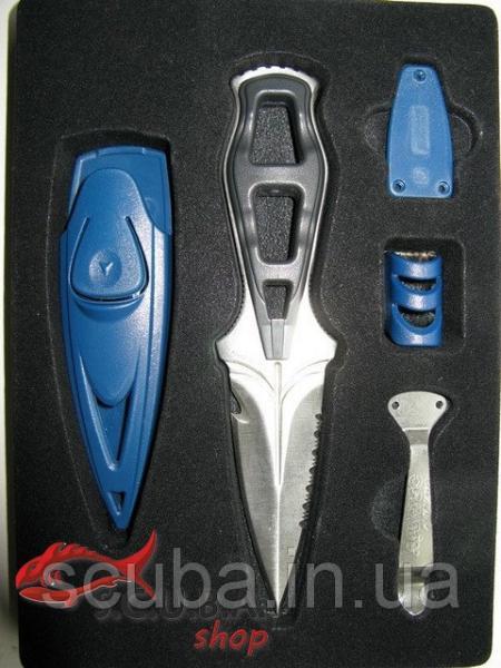 Нож для дайвинга и подводной охоты Aquatec Raptor