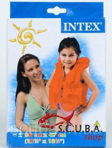 Надувной жилет Intex