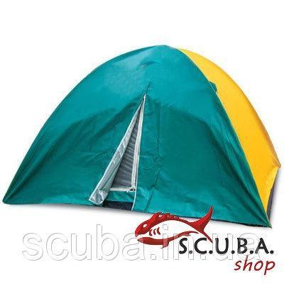 Палатка 6 -ти местная VERUS туристическая двухслойная размеры 220 * 250 * 150 см (SY 021)