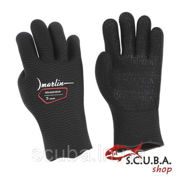 Перчатки Marlin ULTRASTRETCH 5mm black