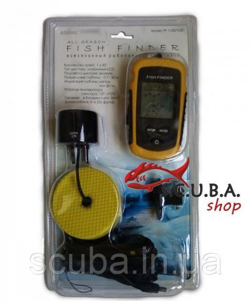Эхолот для ловли рыбы Fish finder FF 1108/TL88