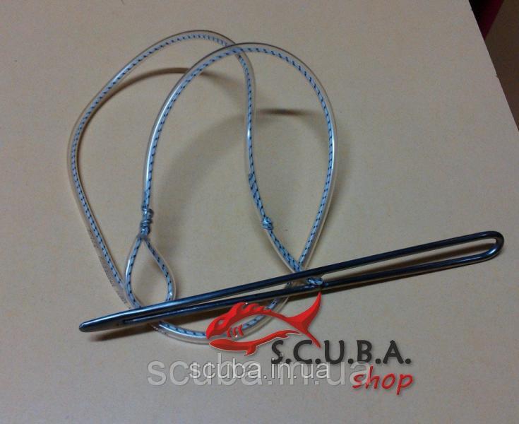 Кукан для подводной охоты VERUS игла со шнурком из ПВХ