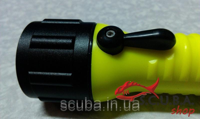 Фонарь для подводной охоты и дайвинга SHALLOW LIGHT (с аккумулятором)