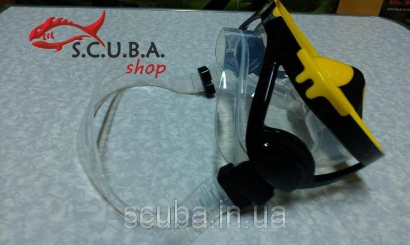 Маска для плавания с клапаном STRATOS (силикон)