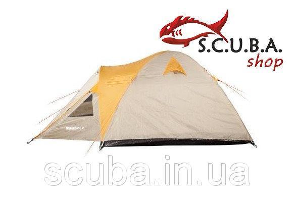 Палатка туристическая двухместная двухслойная Кемпинг LIGHT 2