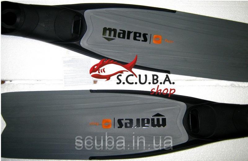 Ласты для подводной охоты MARES Razor Soft (cо съемной серой лопастью)