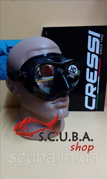 Маска для подводной охоты Cressi Sub NANO HD (зеркальные стёкла)