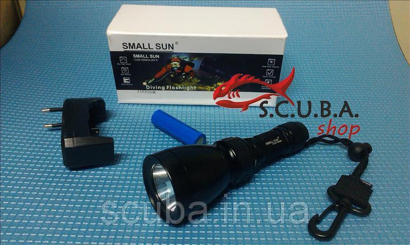 Фонарь подводный для дайвинга Small Sun ZY-213 10000W