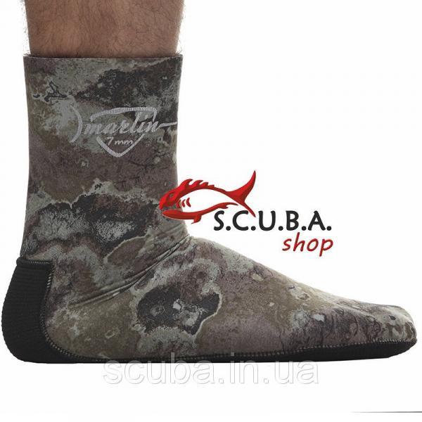 Носки для подводной охоты Marlin Anatomic Duratex Green 5 мм