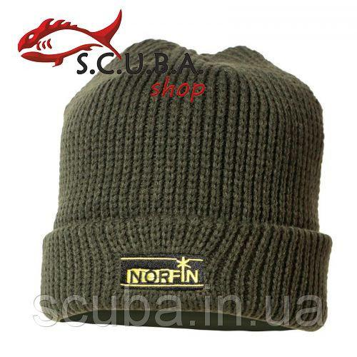 Шапка (шерсть, подкладка из флиса) NORFIN Classic Warm (ар. 302810)