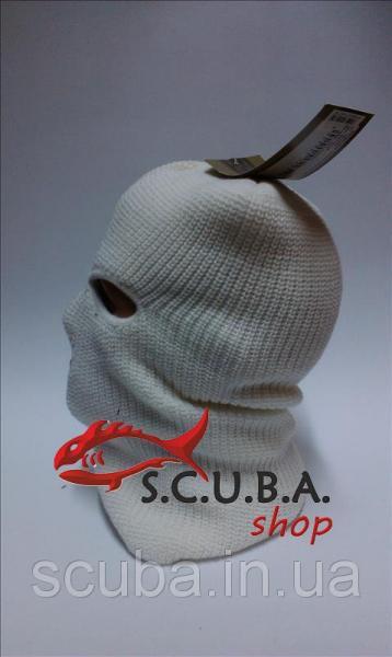Тактическая вязаная маска MIL-TEC (белая)