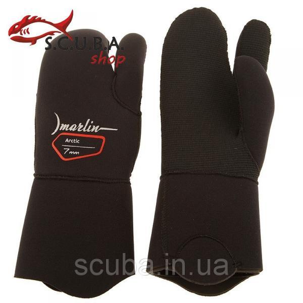 Перчатки трехпалые для подводной охоты MARLIN Arctic 7 мм