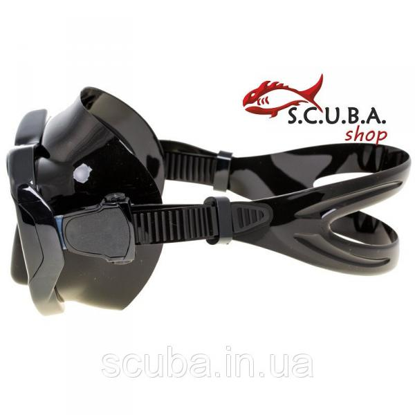 Маска для подводного плавания MARLIN Turbo black (Марлин Турбо Блек)