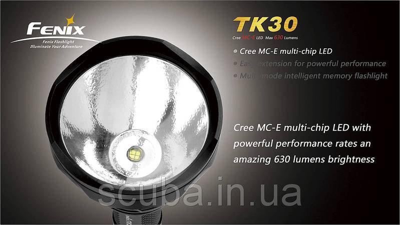 Тактический фонарь Fenix TK30 Cree MC-E LED