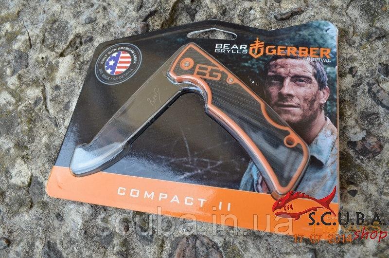 Нож Gerber Bear Grylls Compact II Knife (31-002518)