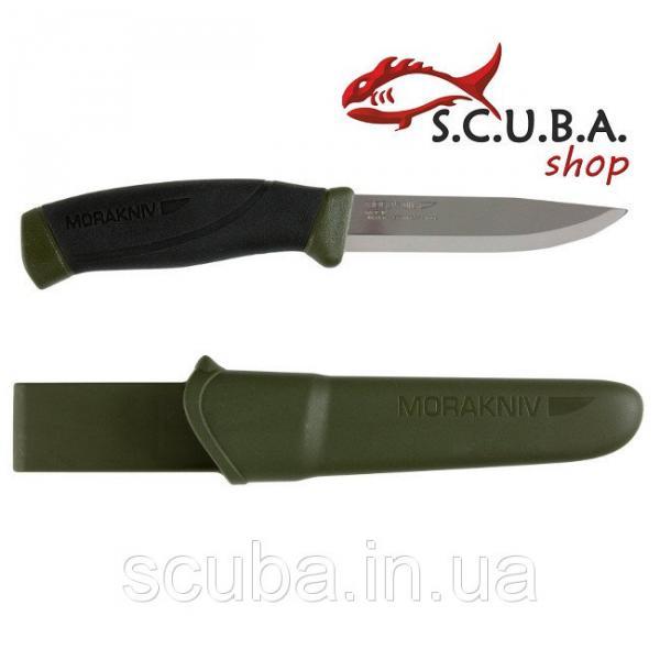 Нож MORA Companion MG, углеродная сталь, хаки, (арт. 11863)