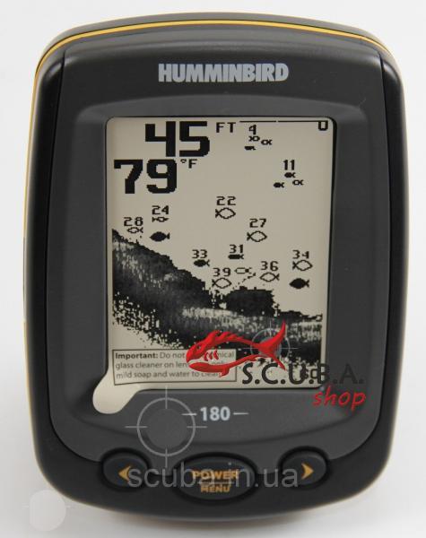 Эхолот трехлучевой Humminbird PiranhaMax 180x